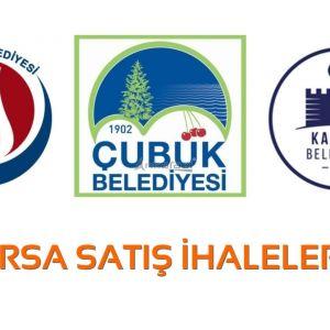 Sincan, Çubuk ve Kalecik Belediyeleri Arsa Satış İhaleleri...