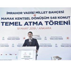 Kanal Ankara ve Mamak 548 Konut Temel Atma Töreni...