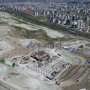 Bağlıca - Ankara Üniversitesi Kök Hücre Hastanesi İnşaat Çalışmaları Hızlandı...