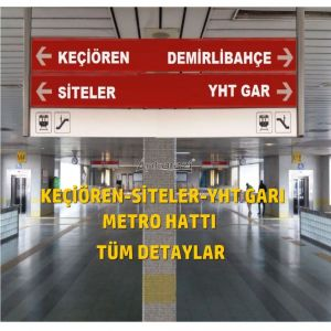 Keçiören-Siteler-YHT Garı Metro Hattı, Nihai Proje Dosyası...