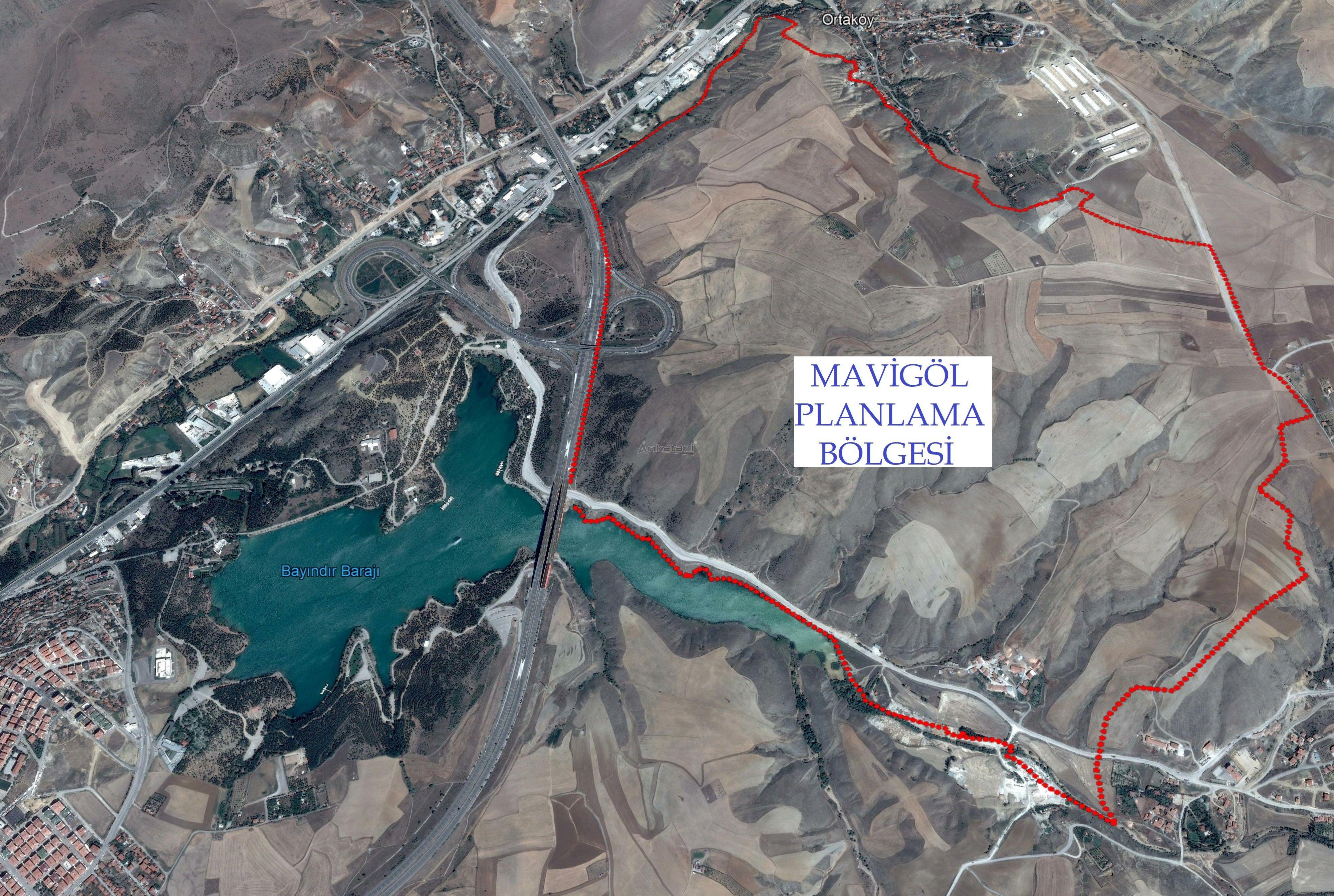 Mamak Mavigöl Planı Arsa Satış İhalesi... 3191