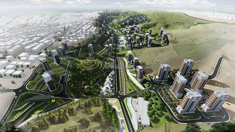 Hacıkadın Vadisi Kentsel Dönüşüm Alanı Planı Askıda…