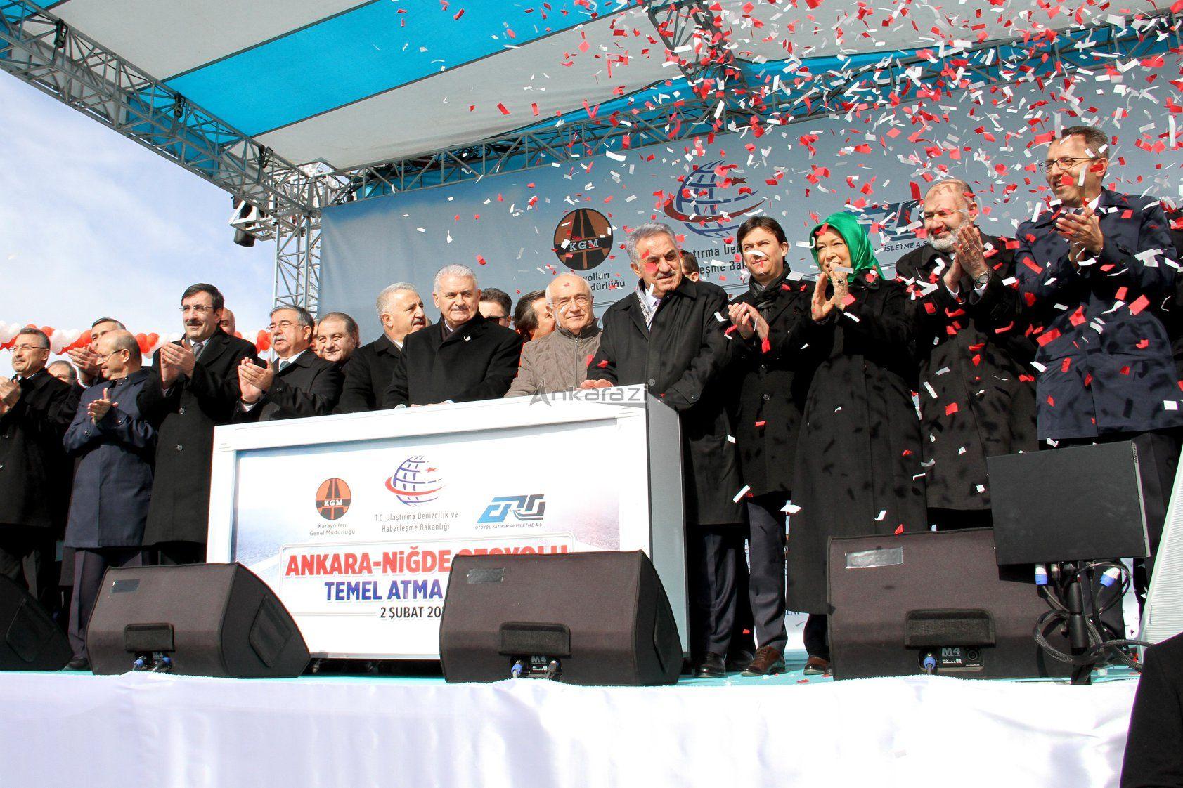 Ankara-Niğde Otoyolu 2019 Sonunda Açılacak... 3277