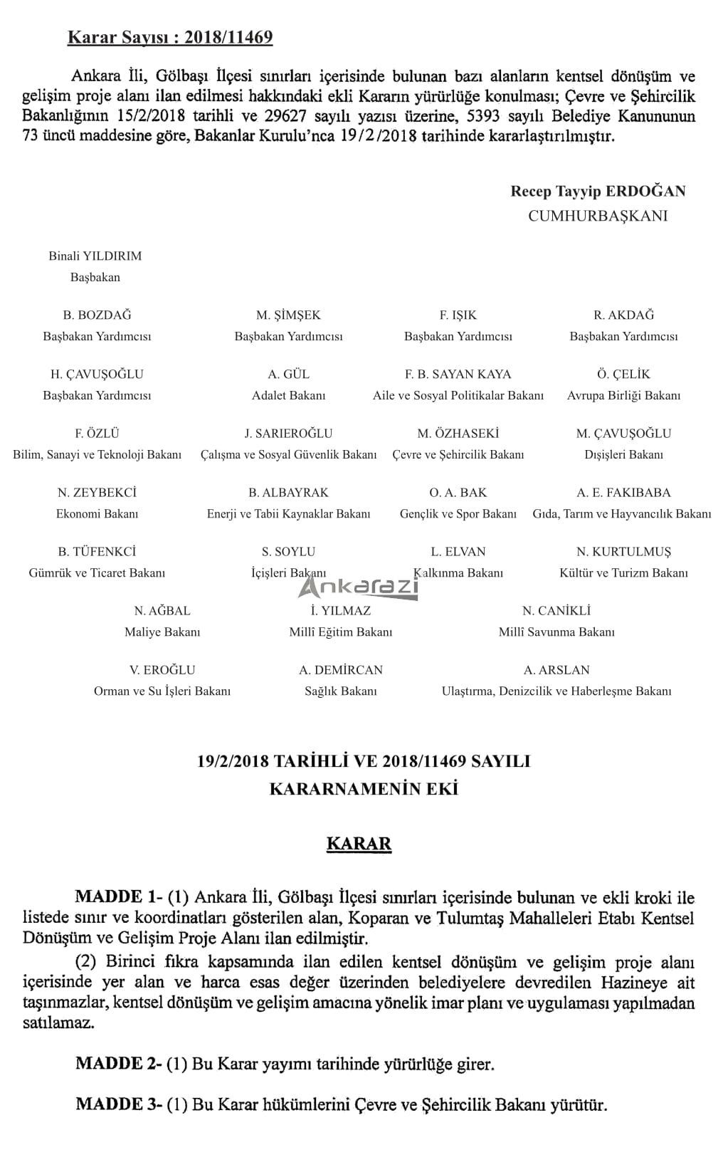 Koparan - Tulumtaş KDGPA Sınırları... 3348