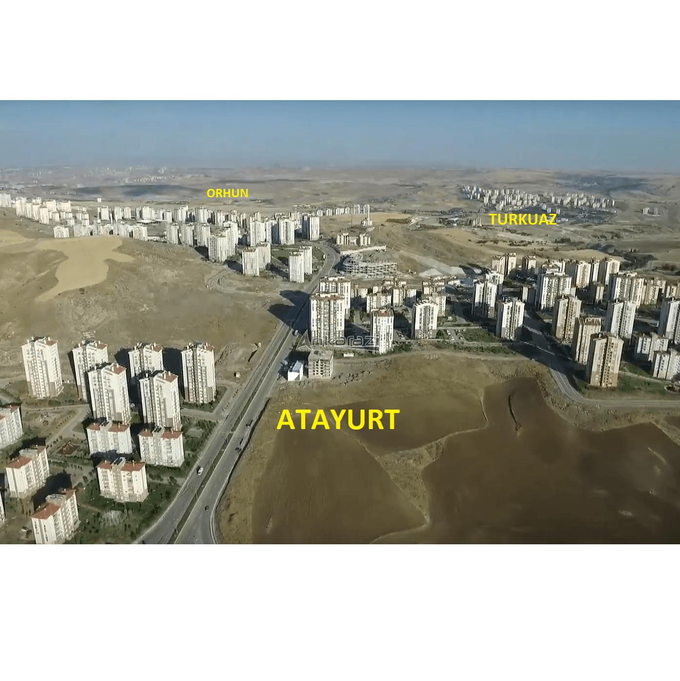 Eskişehir Yolu: Turkuaz, Atayurt ve Orhun Mahalle Sınırları…