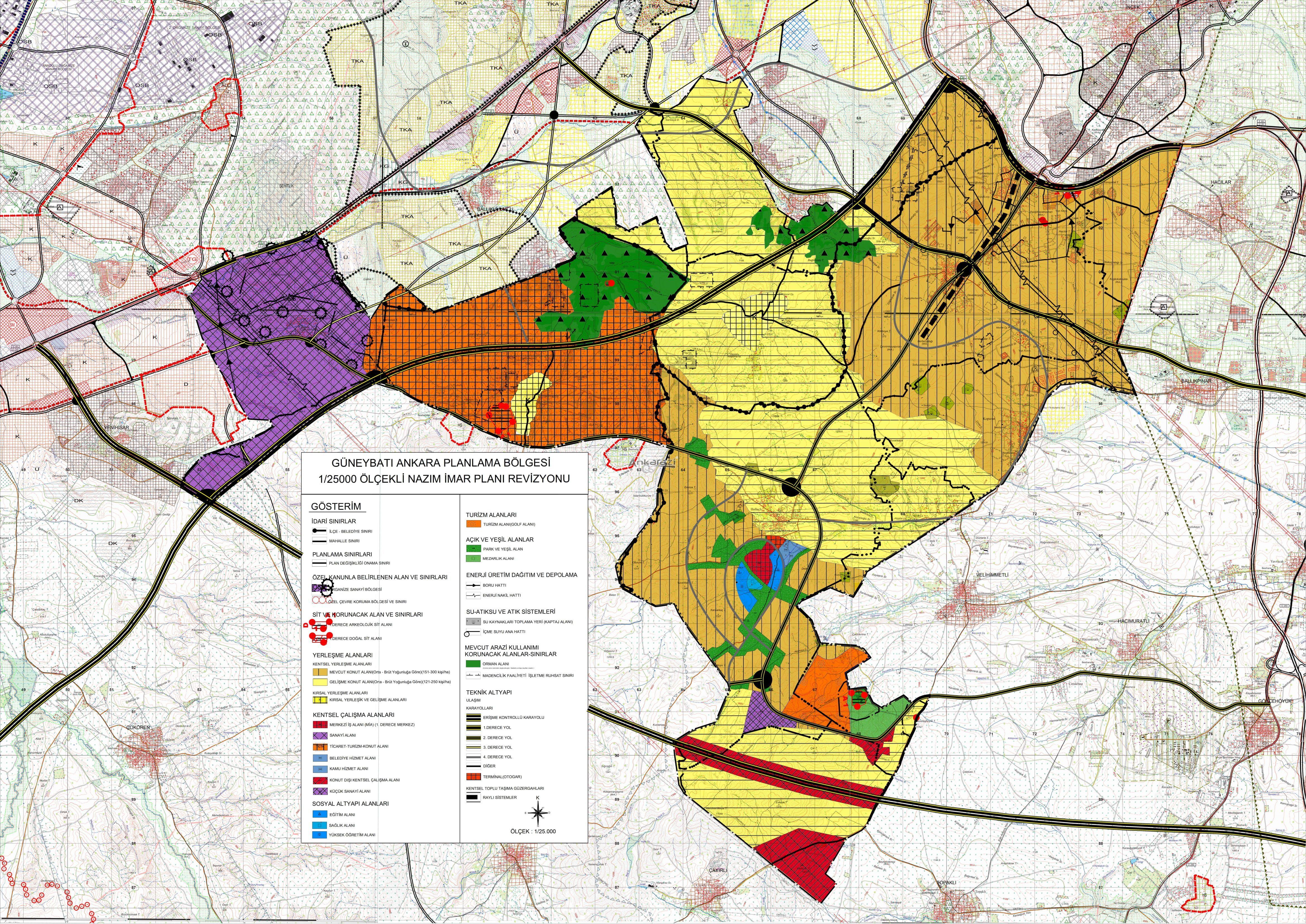Güneykent 1/25000'lik Planları Askıda... 3351