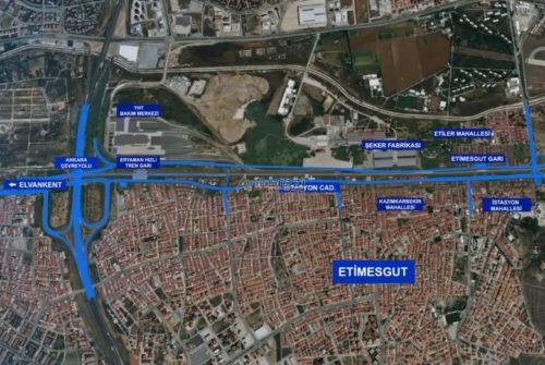 Etimesgut İstasyon Caddesi, Yeni Bulvar Projesi Detayları…