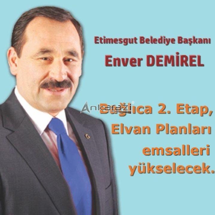 """Enver Demirel; """"Bağlıca 2. Etap ve Elvan Planlarının Emsal Artışlarını Gerçekleştireceğiz."""""""