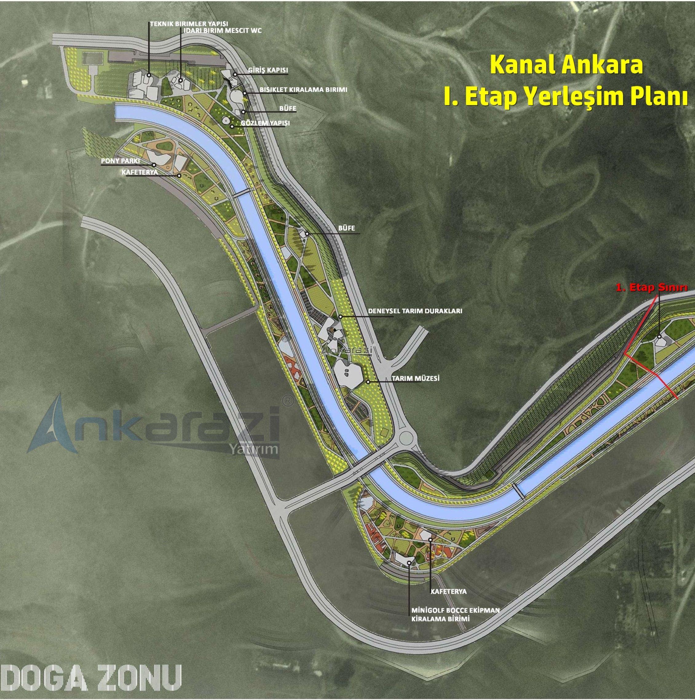 Kanal Ankara 1. Etap Detayları... 3548