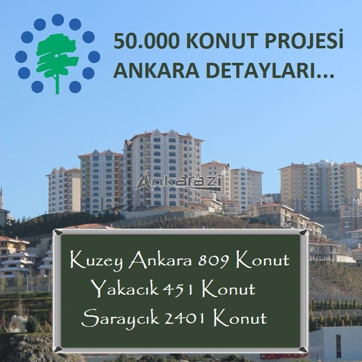 TOKİ 50 Bin Konut Projesi, Ankara'da Nerede?