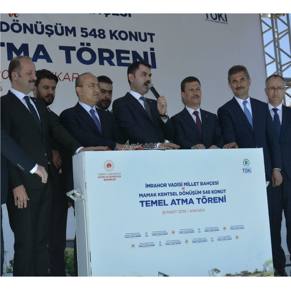 Kanal Ankara ve Mamak 548 Konut Temel Atma Töreni... 3666