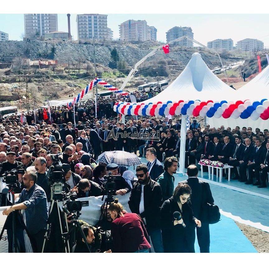 Kanal Ankara ve Mamak 548 Konut Temel Atma Töreni... 3668