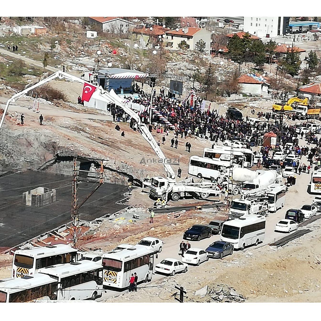 Kanal Ankara ve Mamak 548 Konut Temel Atma Töreni... 3667