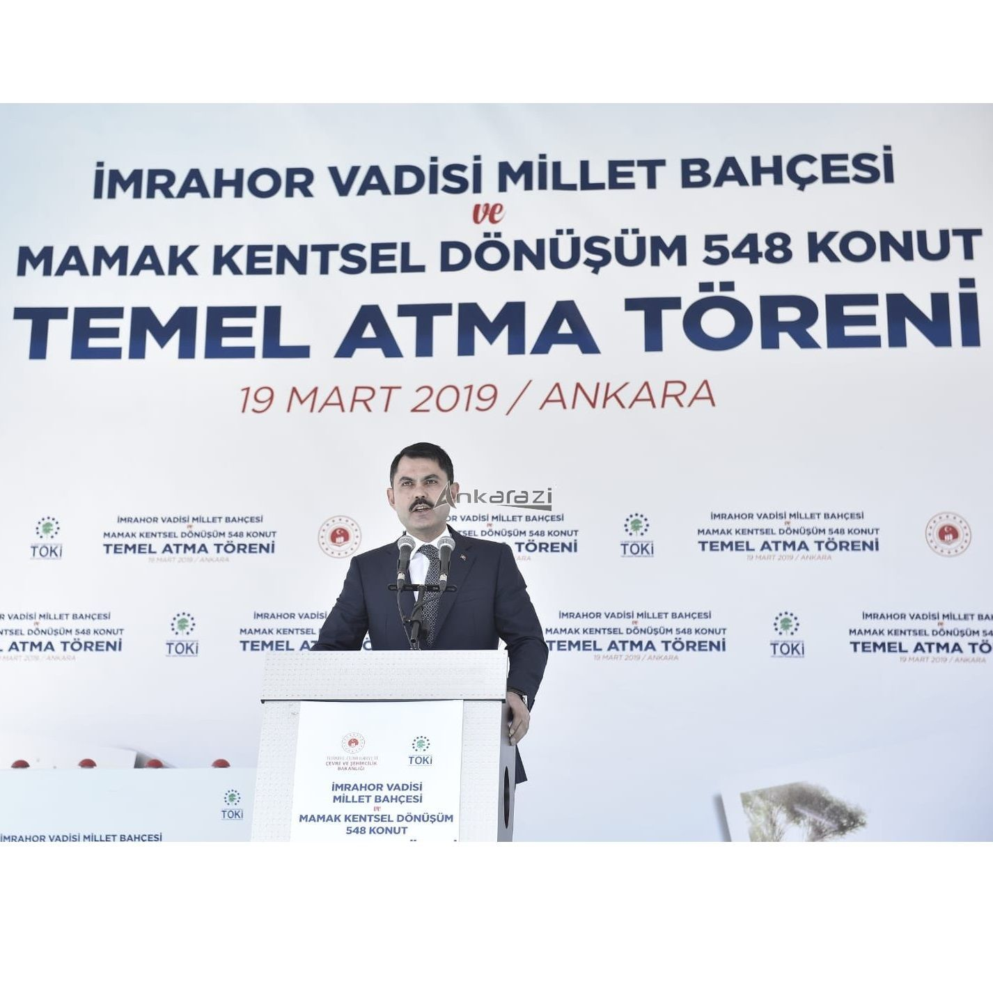 Kanal Ankara ve Mamak 548 Konut Temel Atma Töreni…