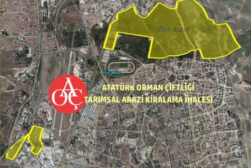 Atatürk Orman Çiftliği, Tarımsal Üretim Alanı Kiralama İhalesi…