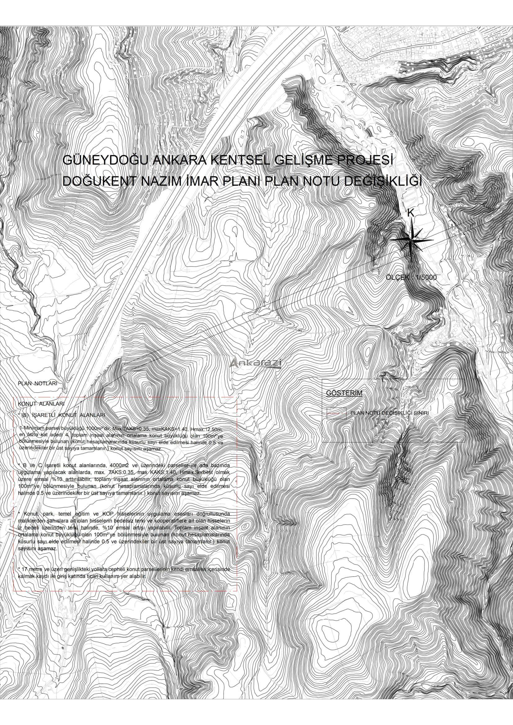 Doğukent Projesi, Plan Notu Değişikliği... 3677