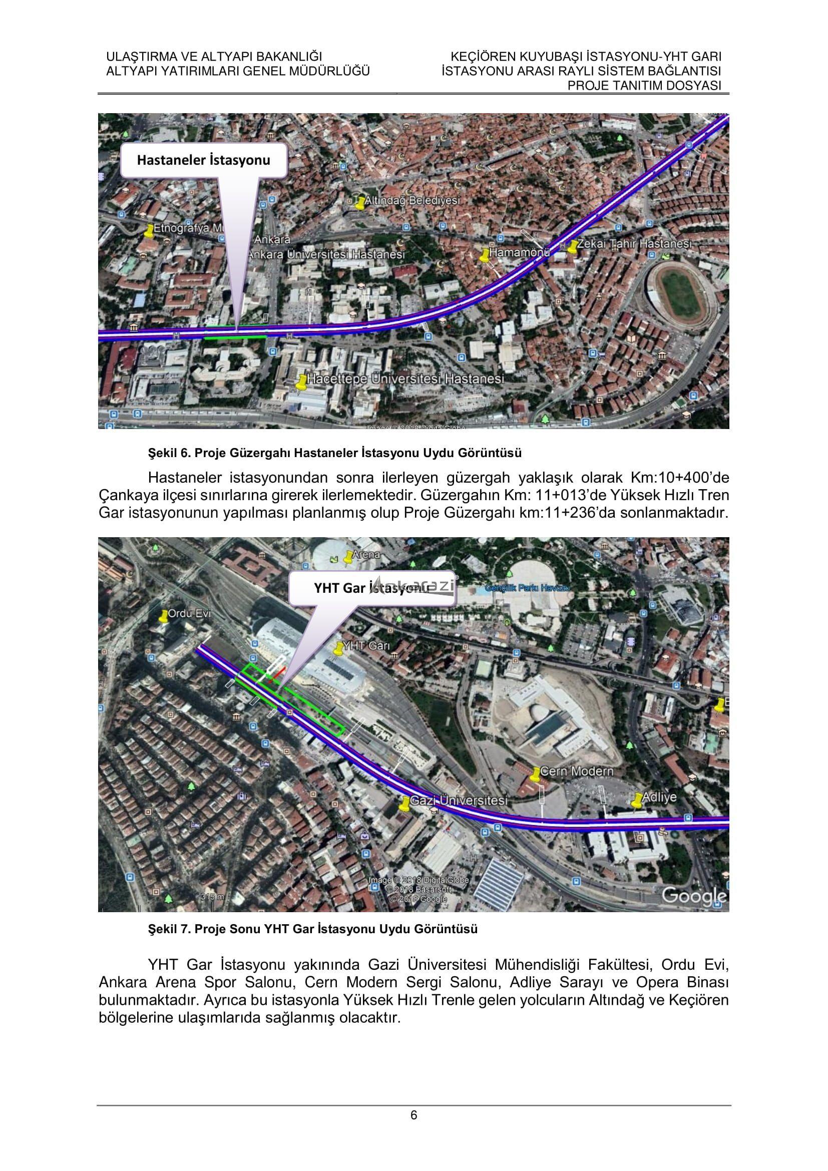 Keçiören-Siteler-YHT Garı Metro Hattı, Nihai Proje Dosyası... 3694