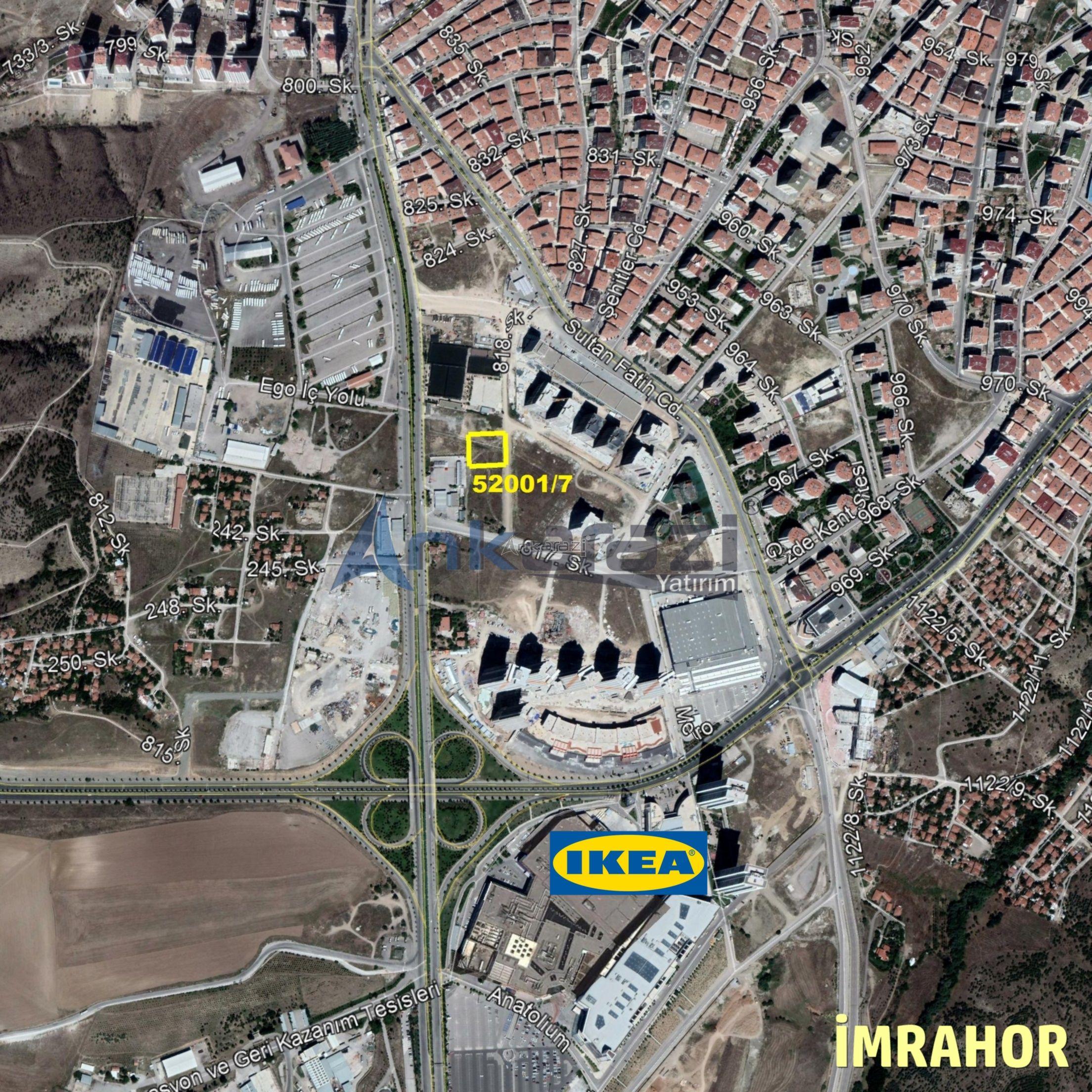 Büyükşehir Belediyesi Arsa Satış İhalesi... (27/06/2019) 3754