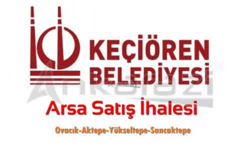 Keçiören Belediyesi Arsa Satış İhalesi… (12.09.2019)