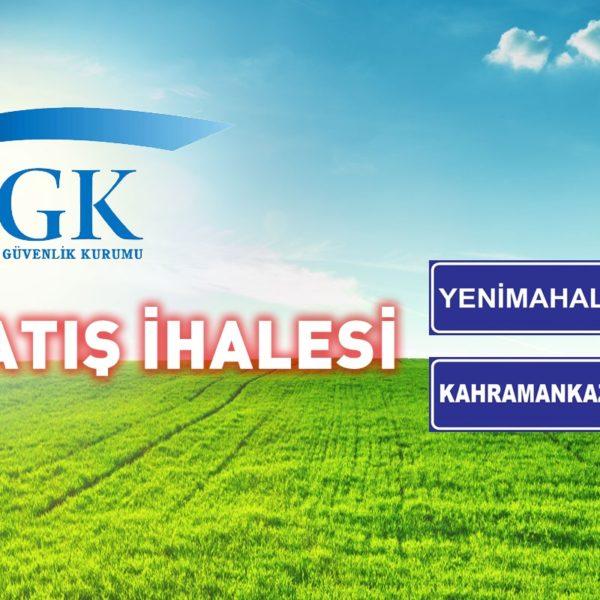 SGK Arsa Satış İhalesi… (02/02/2021)