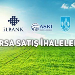 Milli Emlak ve Pursaklar Belediyesi, Arsa Satış İhaleleri…