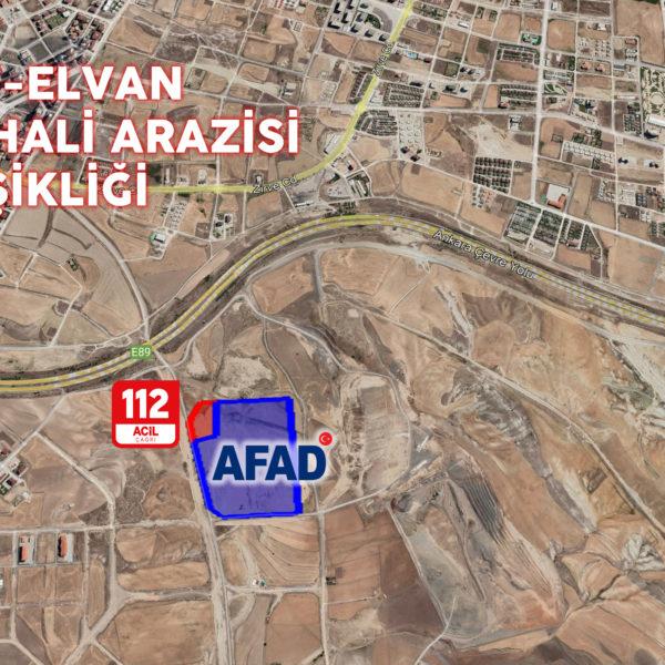 Etimesgut-Elvan, Toptancı Hali Arazisi AFAD ve 112 Acil'e Tahsis Edildi…